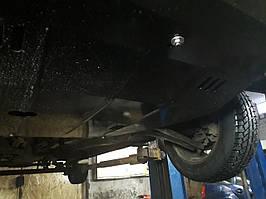 Защита двигателя Кольчуга Fiat Punto Evo/2012 (2009-2012-) V-1,3D МКПП/робот (двигатель, КПП, радиатор)