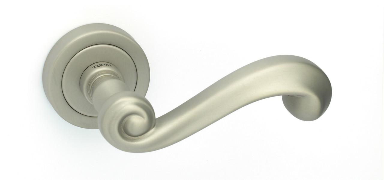 Дверна ручка Tupai 738 R /142 нікель матовий