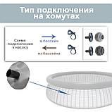 Надувной бассейн + картриджный фильтр Bestway 57268, 244 х 66 см (1 250 л/ч), фото 5