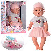 Кукла-пупс Baby Born с аксессуарами Малыш Limo Toy  BL 011 F