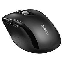 Миша бездротова Bluetooth + USB Rapoo M500 Silent (17959) черая нова