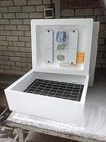 Інкубатор Несучка аналоговий терморегулятор 220\12В з автоматичним переворотом 63 яйця