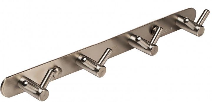 Планка GLOBUS LUX SS8435-4 с двойными крючками 4х2 нержавейка SUS304