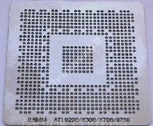 Трафарет прямого нагрева X700 0.60mm