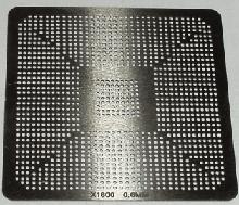 Трафарет прямого нагрева X1800 0.60mm