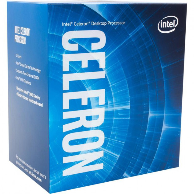 Intel Celeron G4930 3.2GHz (2MB, Coffee Lake, 54W, S1151) Box (BX80684G4930)
