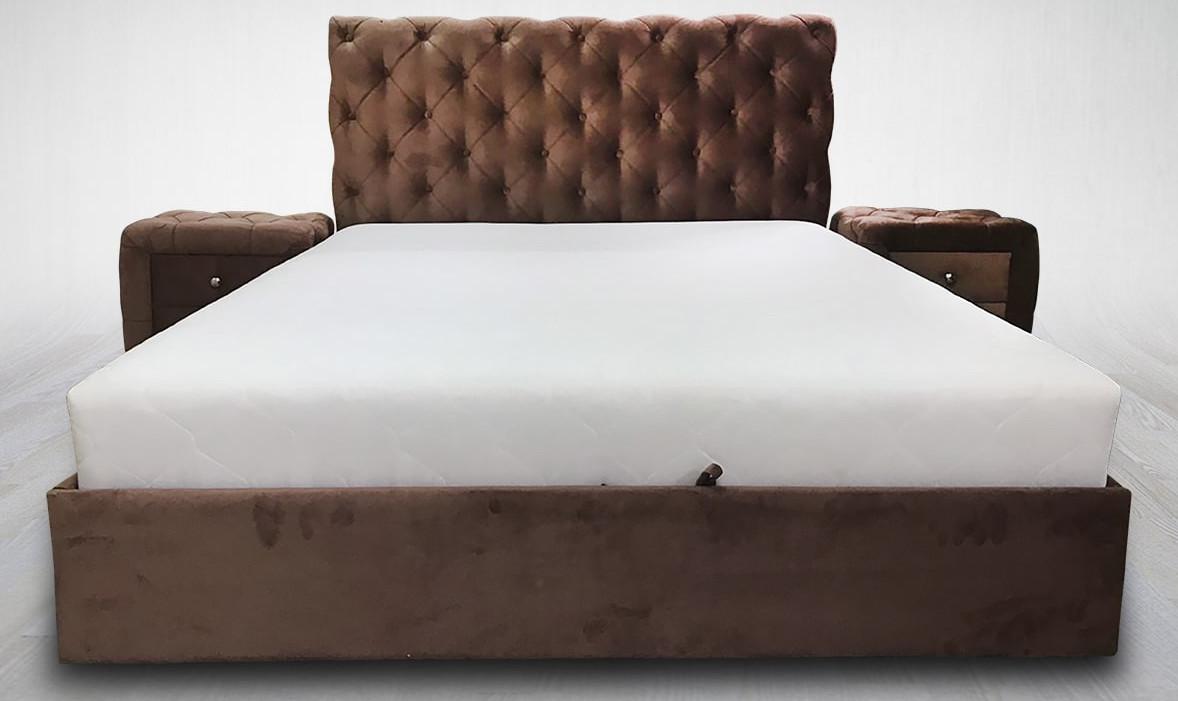 Мягкая кровать Венеция 1 МКС