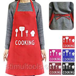 """Фартух тканинний з кишенею """"Kitchen"""" 73*69см"""