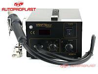 KRAFT&DELE KD854 (850AD). Сварочный аппарат (паяльная станция) для сварки пайки пластика бамперов автомобилей