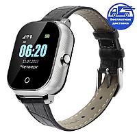 Смарт-часы детские JETIX DF50 Ellipse Silver Edition с Wi-FI и Защитой от воды IP67