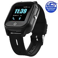 Смарт-часы детские JETIX DF100 c 4G видеозвонком и защитой от воды IP67 (Black)