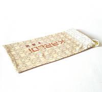 Мешочек для очков солнцезащитных, диоптрийных, чехол мягкий, янтарного цвета, с принтом, унисекс, фото 1