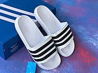 Сланцы/шлепки Adidas /шлепанцы/ адидас/белые