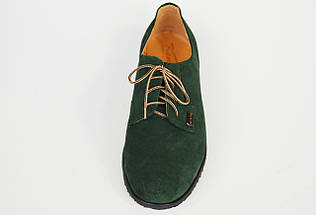 Жіночі зелені замшеві туфлі Kento 1063, фото 2