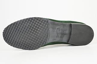 Жіночі зелені замшеві туфлі Kento 1063, фото 3