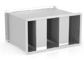Шумоглушитель для прямоугольных воздуховодов C-GKP-90-50