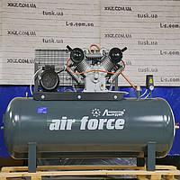 Компрессор воздушный (поршневой) двухпоршневой Лидер ВКП W1100 10-500 с ресивером 500 л, фото 1