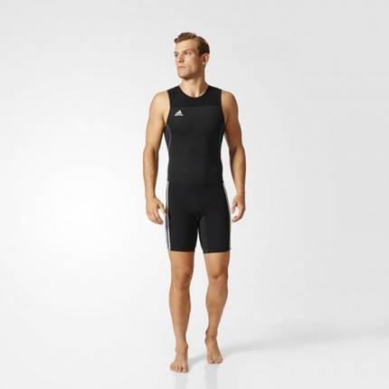Костюм для тяжелой атлетики Adidas Weightlifting Climalite (черный, Z11183), фото 2