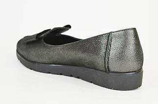 Туфли женские Euromoda 209 Серебристые, фото 2