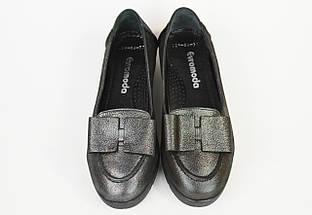 Туфли женские Euromoda 209 Серебристые, фото 3