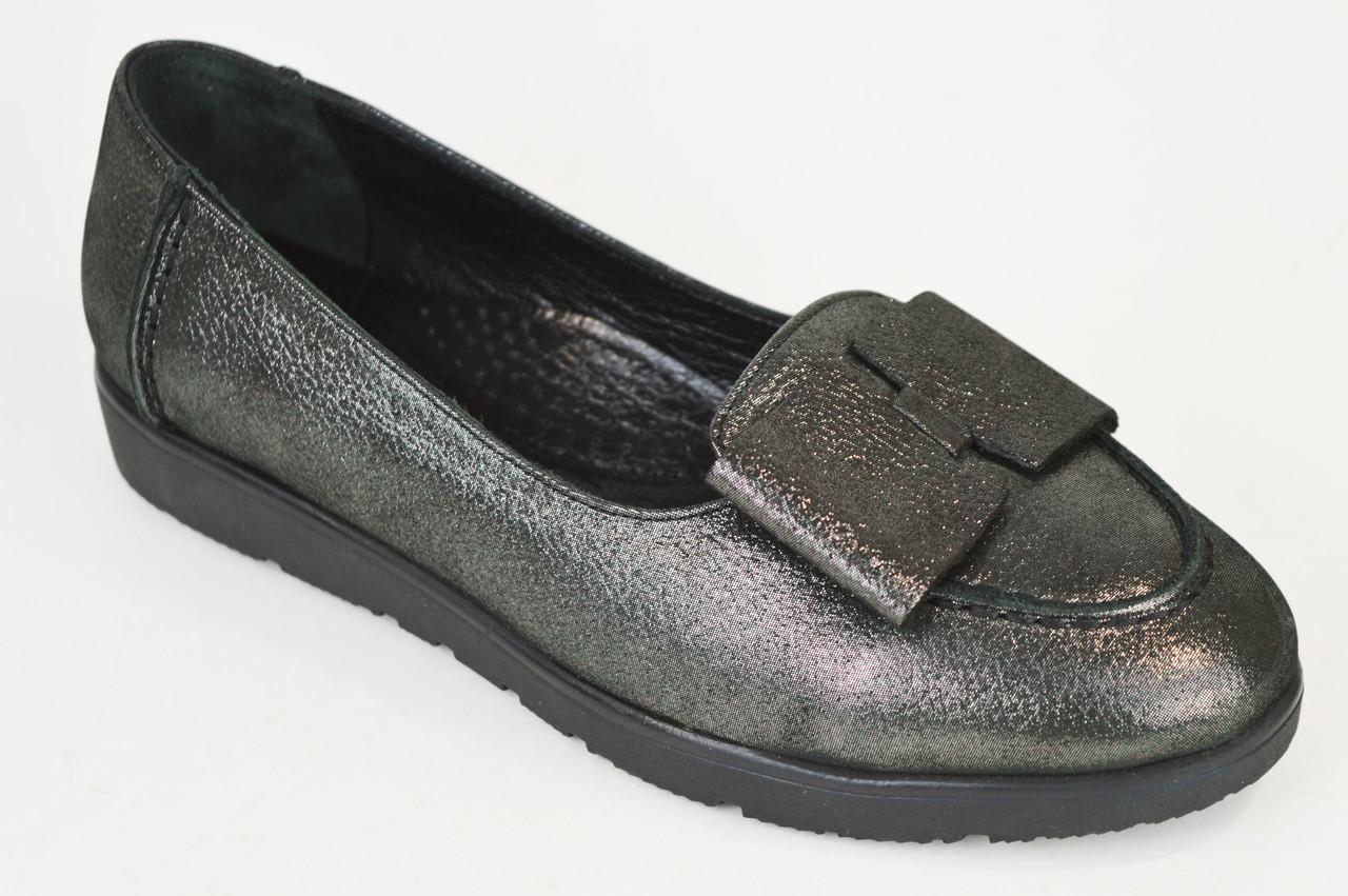 Туфли женские Euromoda 209 Серебристые