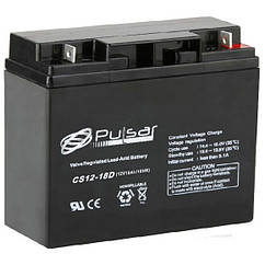 Аккумулятор глубокого разряда PULSAR CS12-18D, КОД: 1244470