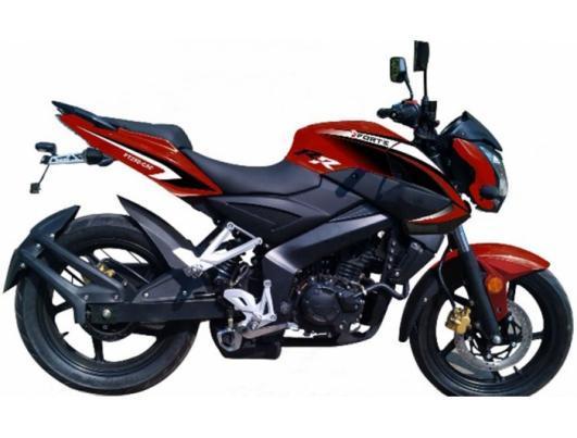 Мотоцикл Forte FT300-C5C (красный)
