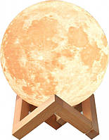 Детский ночник - светильник Луна 3D AVVS tech Moon Lamp i5.9