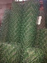 Сітка Рабиця в Полімерному (ПВХ) покриття, 2.0×10 м., осередок 50×50 мм, діаметр 2.5 мм