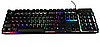 Професійна ігрова клавіатура з підсвічуванням клавіш LANDSLIDES KR-6300, фото 8