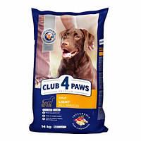 Сухой корм Клуб 4 Лапы Premium Light All Breeds Корм для собак всех пород склонных с полноте, Выбор: 14 кг
