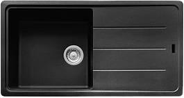 Кухонная мойка Franke Basis BFG 611-97 фрагранит Оникс (114.0363.933)