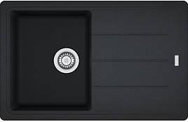 Кухонная мойка Franke Basis BFG 611-78 фрагранит Оникс (114.0258.040)