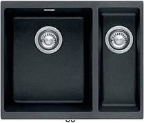 Кухонная мойка Franke Sirius SID 160 Без крыла Тектонайт Черный (125.0395.609)