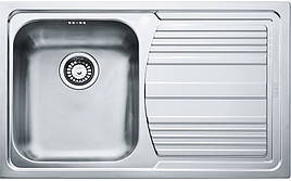 Кухонная мойка Franke Logica line LLX 611-79 Нержавеющая сталь (101.0381.808)