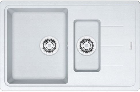 Кухонная мойка Franke Basis BFG 651-78 фрагранит Белый (114.0272.602)