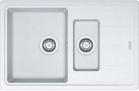 Кухонная мойка Franke Basis BFG 651-78 фрагранит Белый (114.0272.602), фото 2
