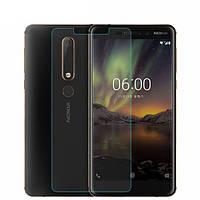 Защитное стекло CHYI для Nokia 6.1 / Nokia 6 New 2018 0.3 мм 9H в упаковке