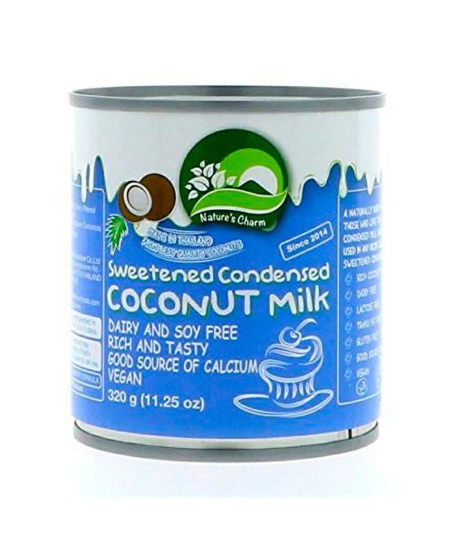 Кокосовое (веганское) сгущенное молоко Nature's Charm (Тайланд), 320 г