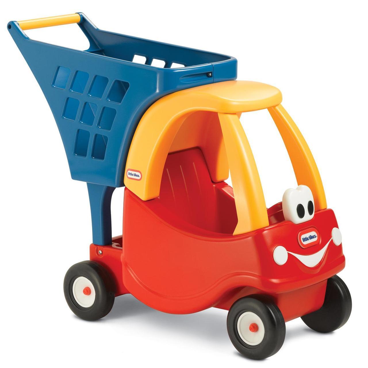 """Тележка-каталка серии """"Cozy Coupe"""" Little Tikes - Автомобильчик 618338E3"""
