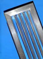Решетка алюминиевая однорядная (анодированная)