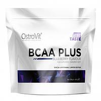 Аминокислоты БЦАА Ostrovit BCAA PLUS 400g Blueberry