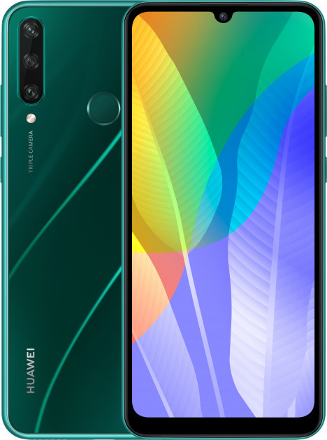 Мобильный телефон Huawei Y6p 3/64GB Emerald Green