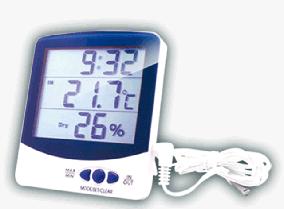 Термогигрометры цифровые