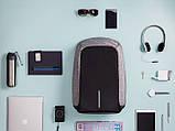 Рюкзак міський Bobby Протикрадій з usb-портом xd design (боббі розумний міський рюкзак для ноутбука), фото 4