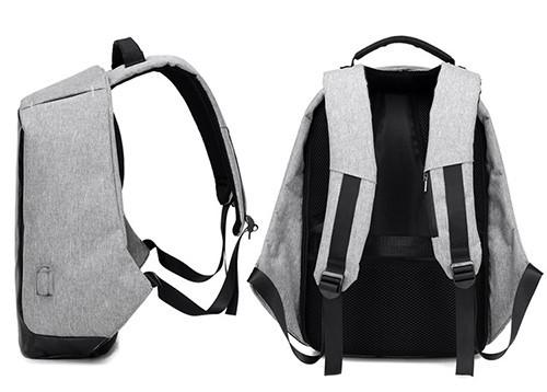 Рюкзак міський Bobby Протикрадій з usb-портом xd design (боббі розумний міський рюкзак для ноутбука)