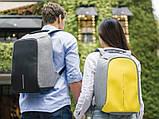 Городской рюкзак Bobby Антивор с usb-портом xd design (бобби умный городской рюкзак для ноутбука), фото 3