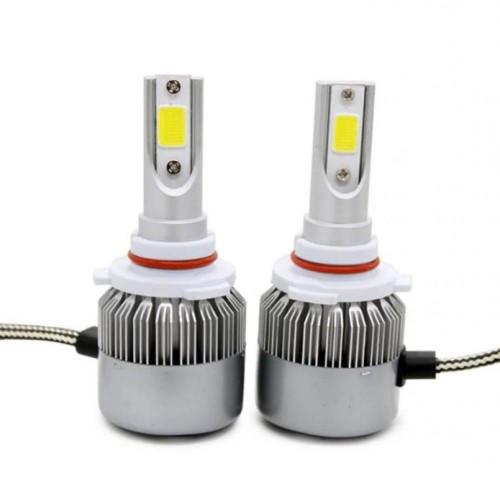 Лампы светодиодные C6 HB4 9006 12-24V COB (2 шт)