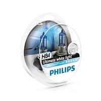 Лампа галогенная Philips HB4 Diamond Vision 2шт/блистер 9006DVS2