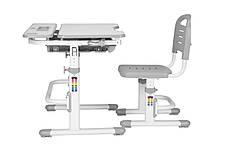 Эргономический комплект Cubby парта и стул-трансформеры Botero Grey - ОПТОМ ДЛЯ ШКОЛ, фото 3
